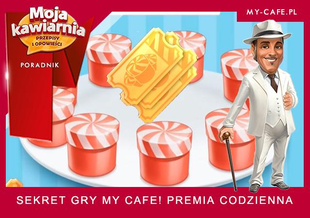 Premia Codzienna Moja Kawiarnia – Sekret gry My Cafe!