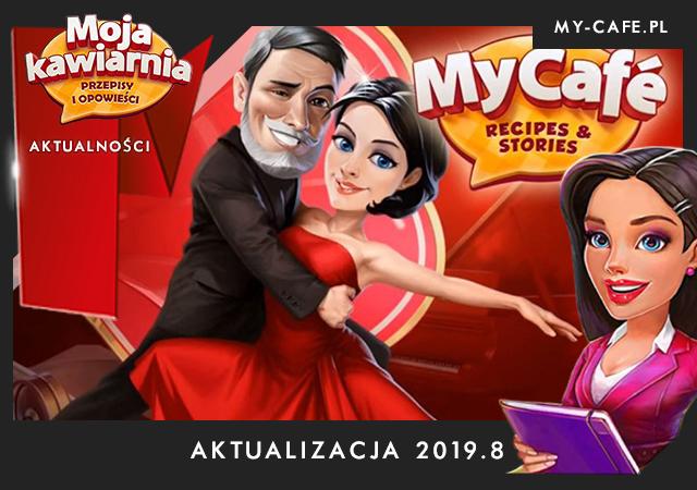 My Cafe Aktualizacja 2019.8. Tango! Moja Kawiarnia – Diego i Kometa oraz sezon kawowy!