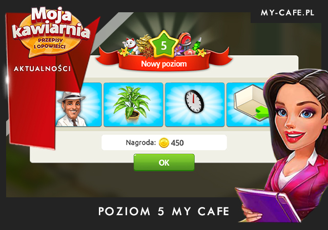 Moja Kawiarnia poziom 5 – My Cafe: LVL 5
