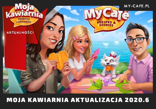 Moja Kawiarnia Aktualizacja 2020 6 Origami – najważniejsze zmiany w grze!