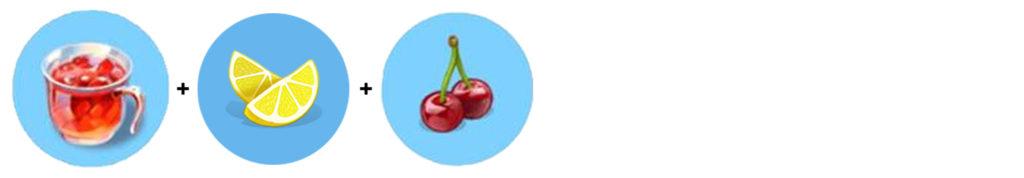 Moja Kawiarnia przepisy Wiśnie Poncz wiśniowy (poncz + cytryna + wiśnie)