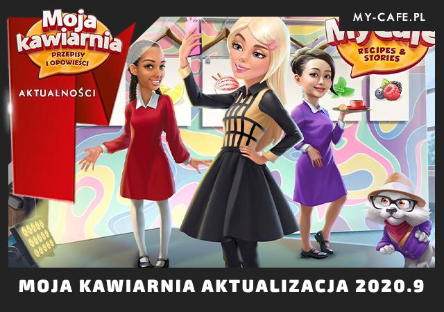 Moja Kawiarnia Aktualizacja 2020.9 Dobroczynność i moda w My Cafe – Nikol oraz Sezon Kawowy!