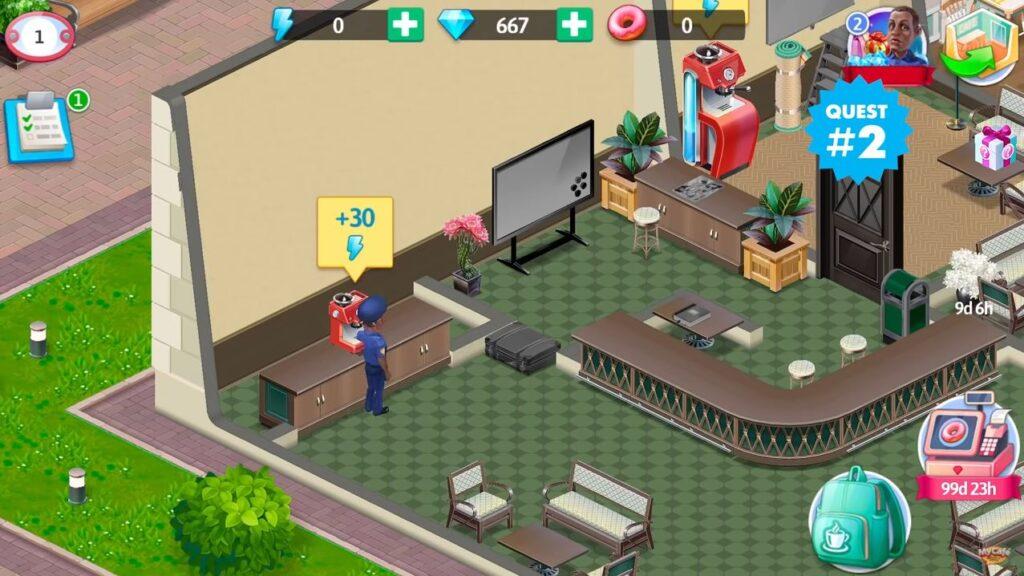 Generator energii Misja Tajemniczy Hotel
